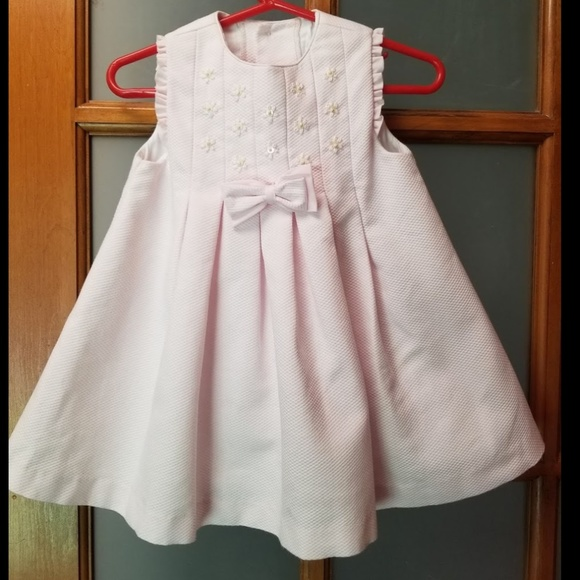 fedaf1bde Luli & Me Dresses | Luli Me Rufflesleeve Smocked Dress Sz 18 Mos ...